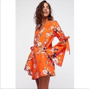 Free People Lover Of Mine Floral Mini Dress